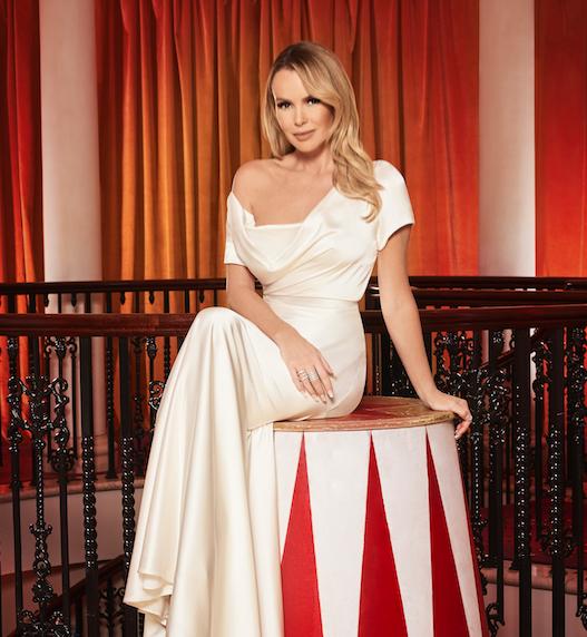 Britain S Got Talent Judge Amanda Holden Talks Evil Simon