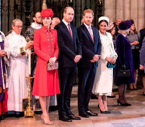 4adf812ed03bc Inside Harry and Meghan's Split from William and Kate to Start Their Own  Royal Household