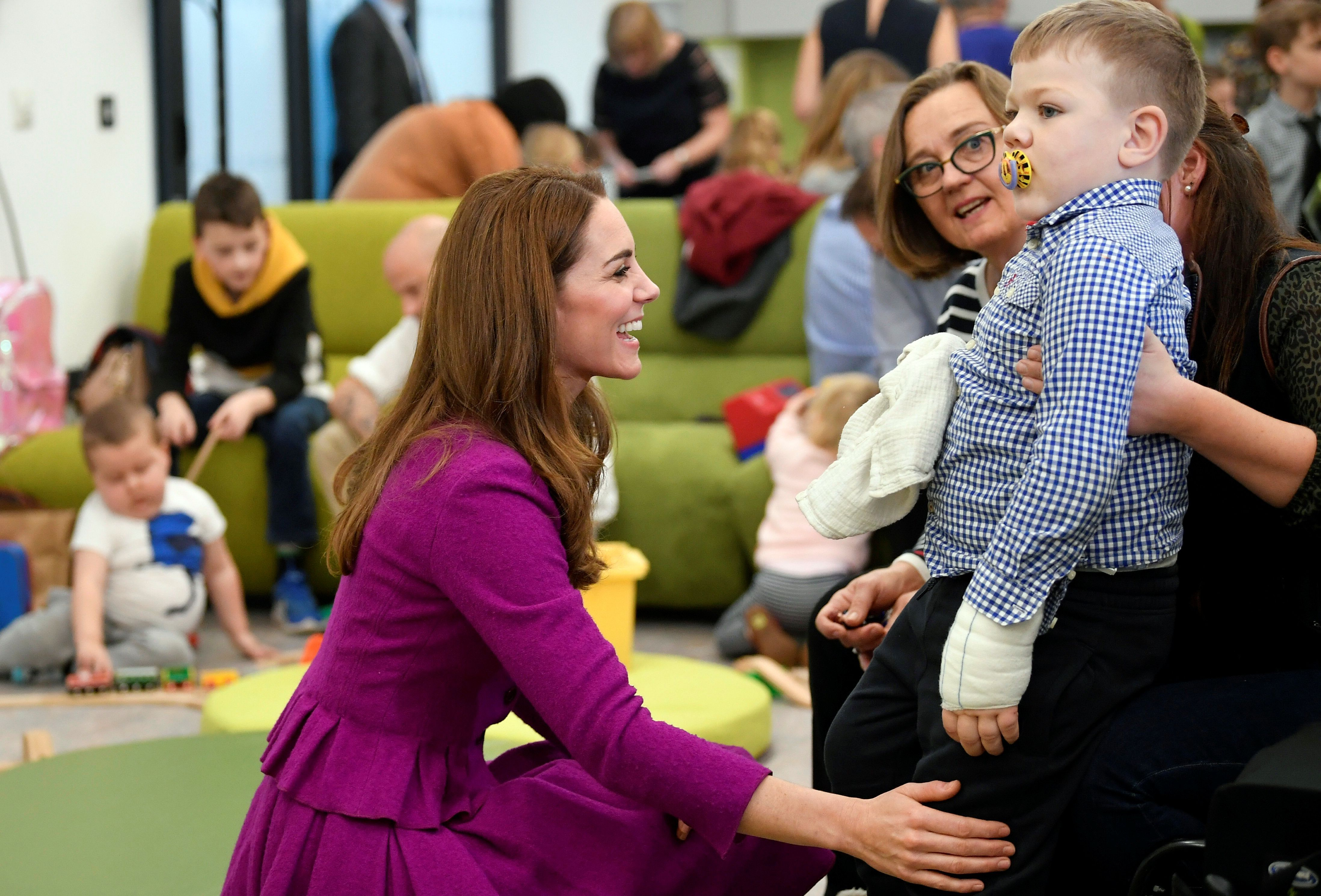 "Kate Middleton Made an ""Emotional"" Visit to a Children's Hospice This Morning"