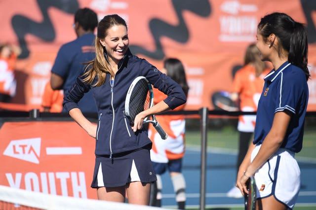 britain royals tennis