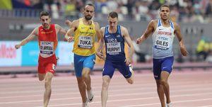 Álvaro de Arriba y Adrián Ben en los 800m