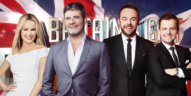 Amanda Holden, Simon Cowell, Anthony McPartlin, Declan Donnelly, BGT, Britain's Got Talent