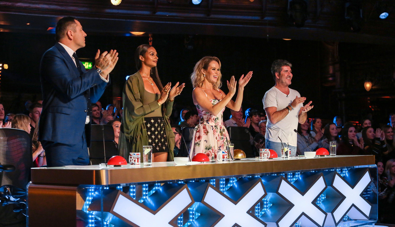 Britain S Got Talent Judges Reunite To Film Champions
