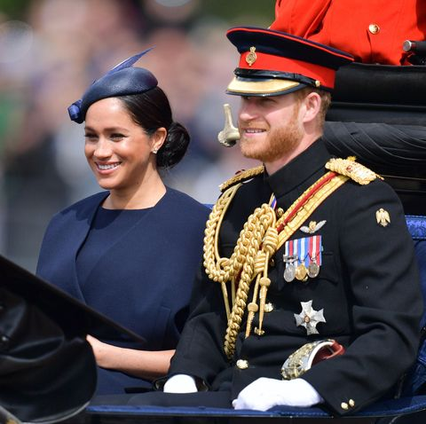 prince harry trooping the colour