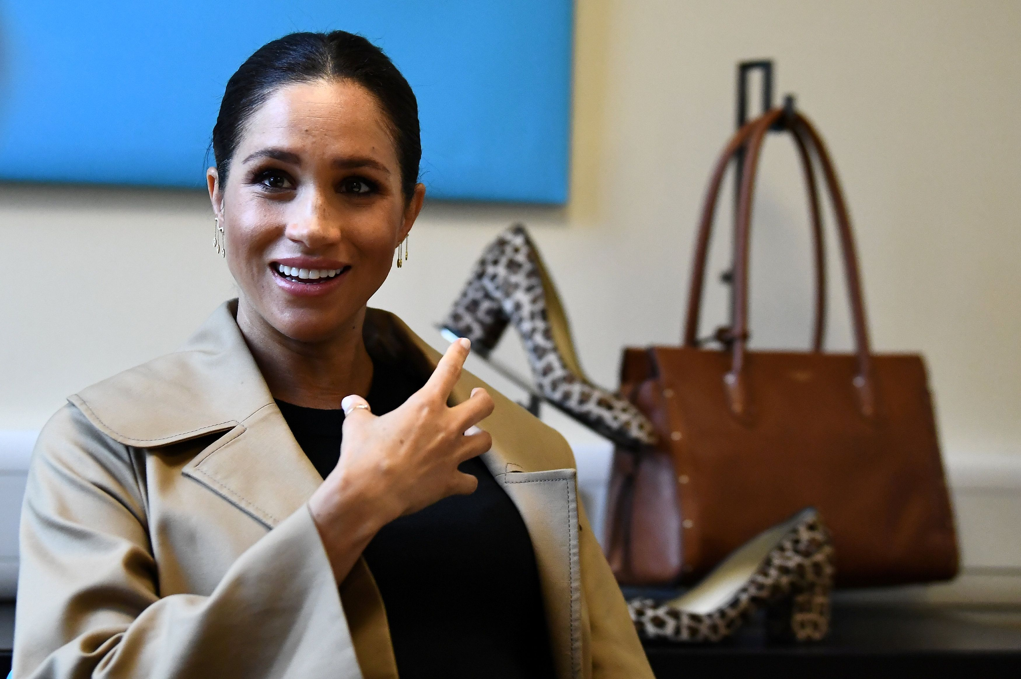Meghan Markle Has a Simple Strategy for Battling Shyness
