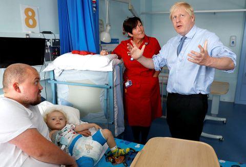 PM Boris Johnson Visits South Cornwall