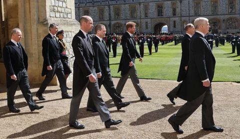 britian royals prince philip funeral