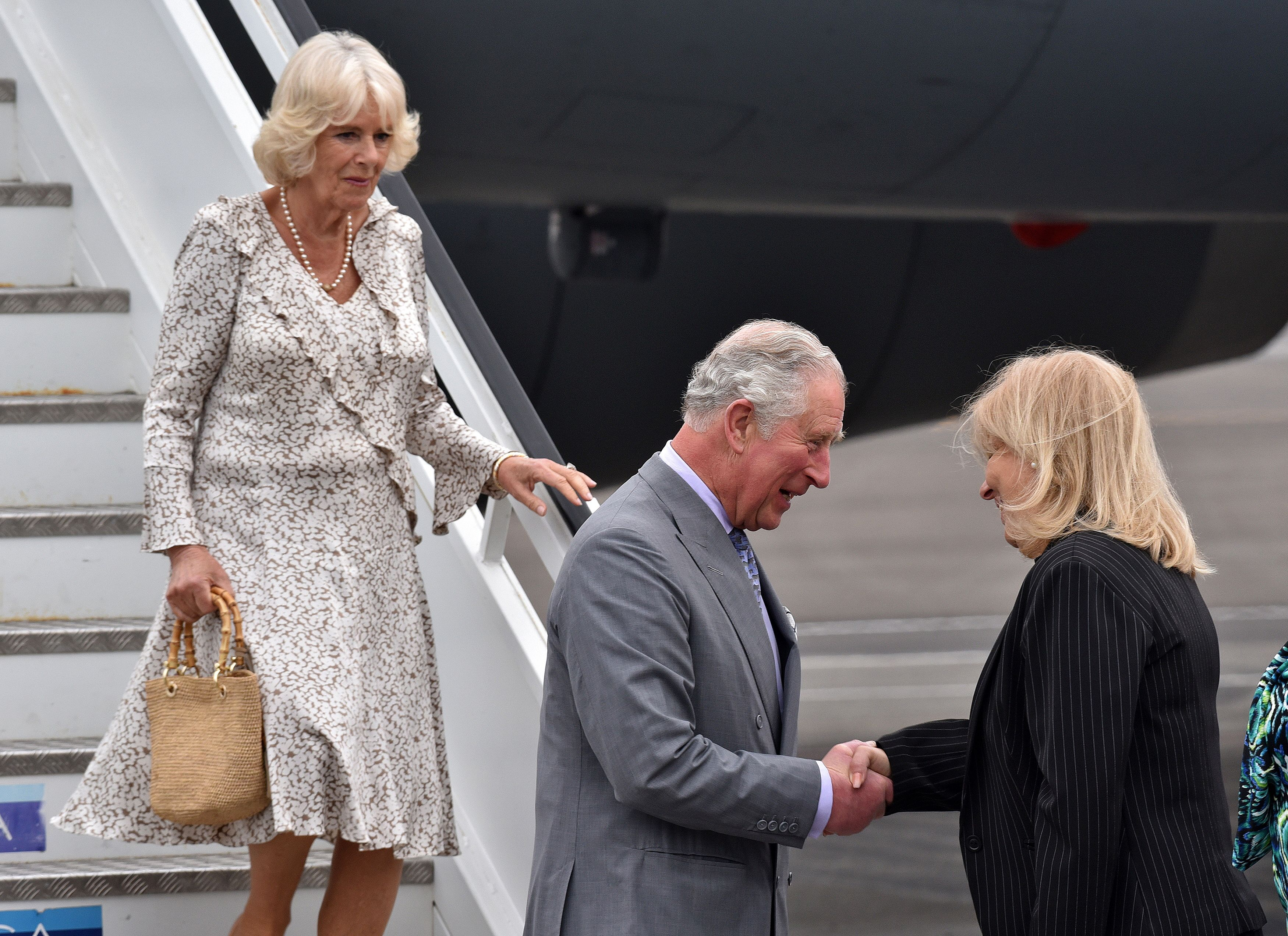 CUBA-BRITAIN-ROYALS-PRINCE CHARLES-ARRIVAL