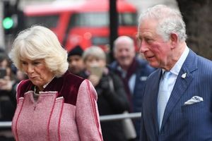 The Prince Of Wales and The Duchess Of Cornwall Visit The Cabinet Office