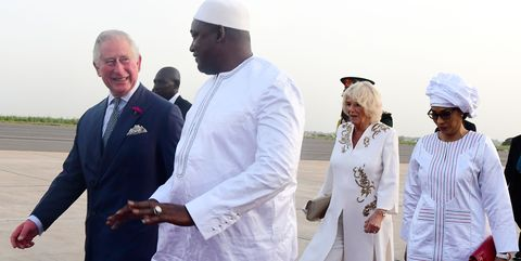 Prince Charles in Gambia