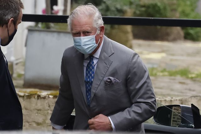 prince charles visits philip in the hospital