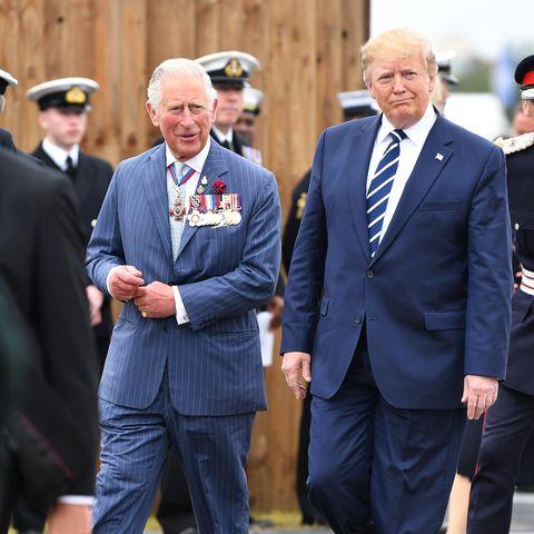 prince charles donald trump uk state visit
