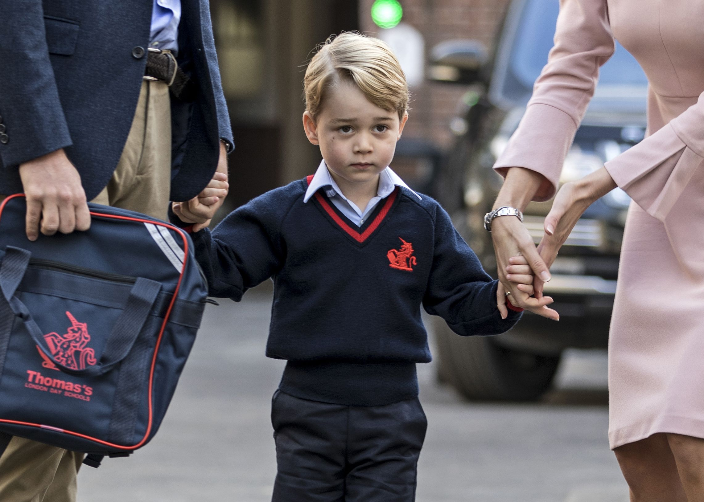 Prince George Was Just Named One of the Best-Dressed People in the U.K.