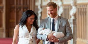 prince harry meghan markle royal baby archie harrison mountbatten windsor