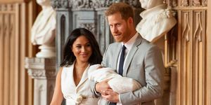 prince harry meghan markle baby sussex first photos