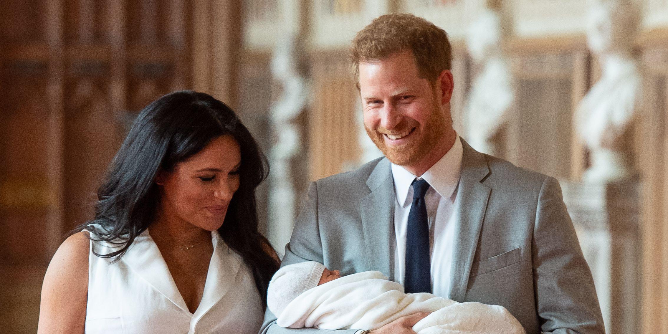 prince harry meghan markle royal baby first photos
