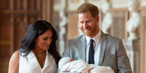 prince harry meghan markle royal baby first photos