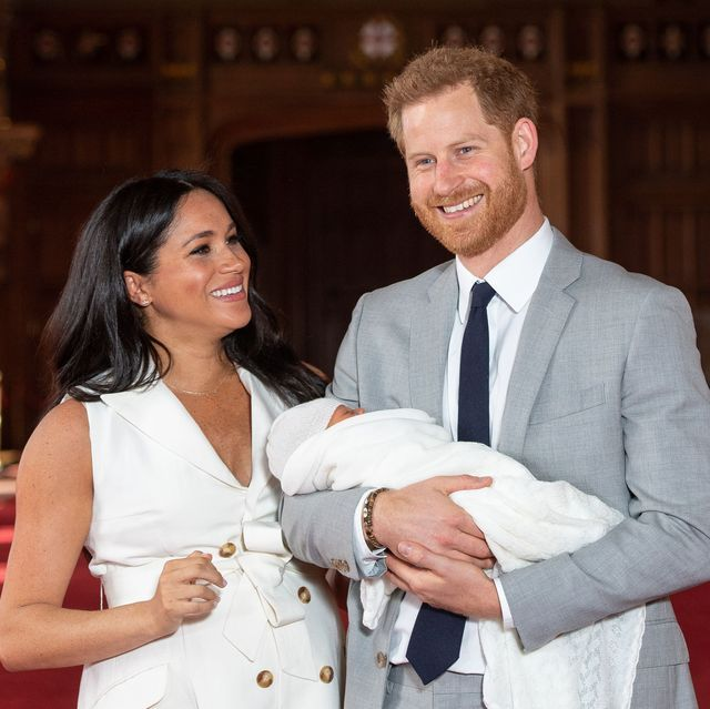 Meghan Markle's Baby Archie Reportedly Has 'Reddish Hair' Like His Dad Prince Harry