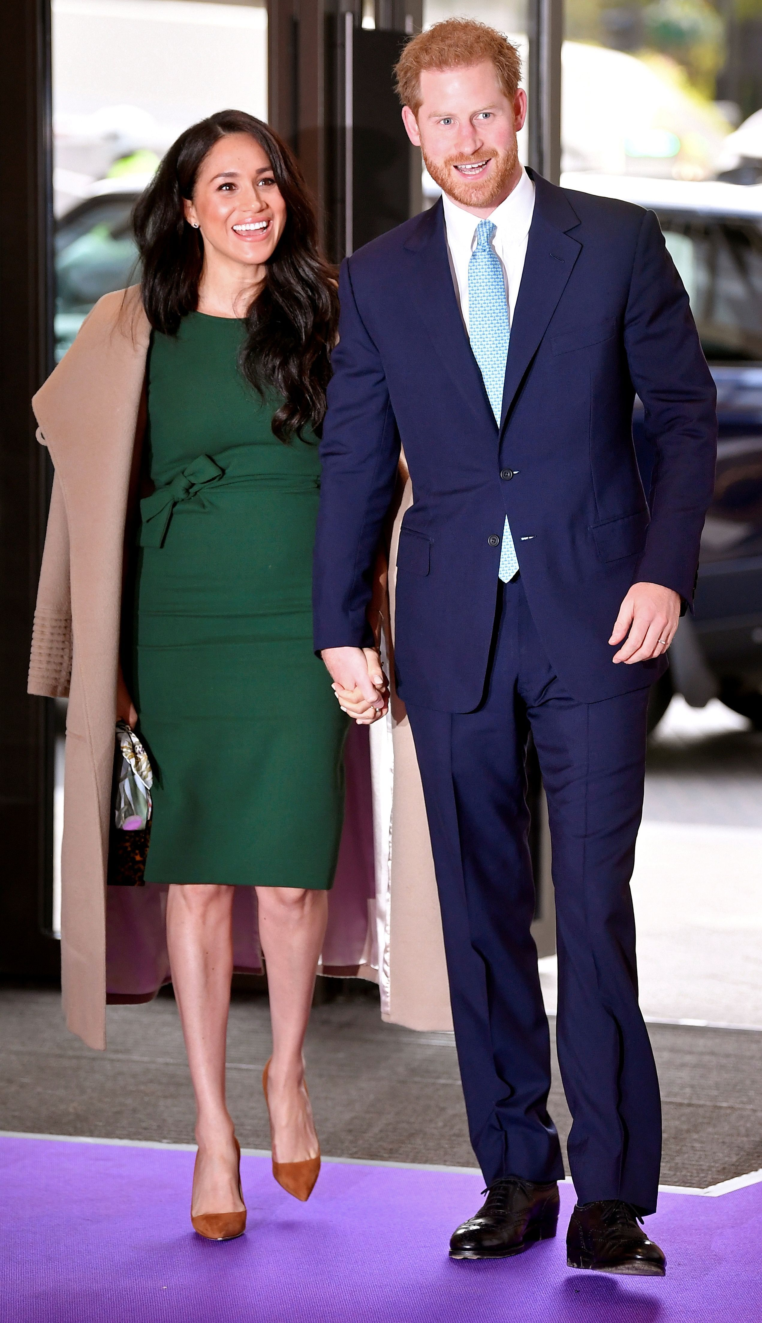 All the Photos of Meghan Markle and Prince Harry at the WellChild Awards