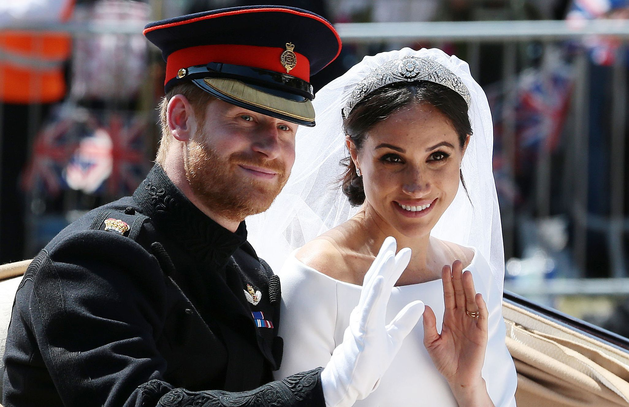 prince harry helped meghan markle pick out her wedding day accessories cosmopolitan