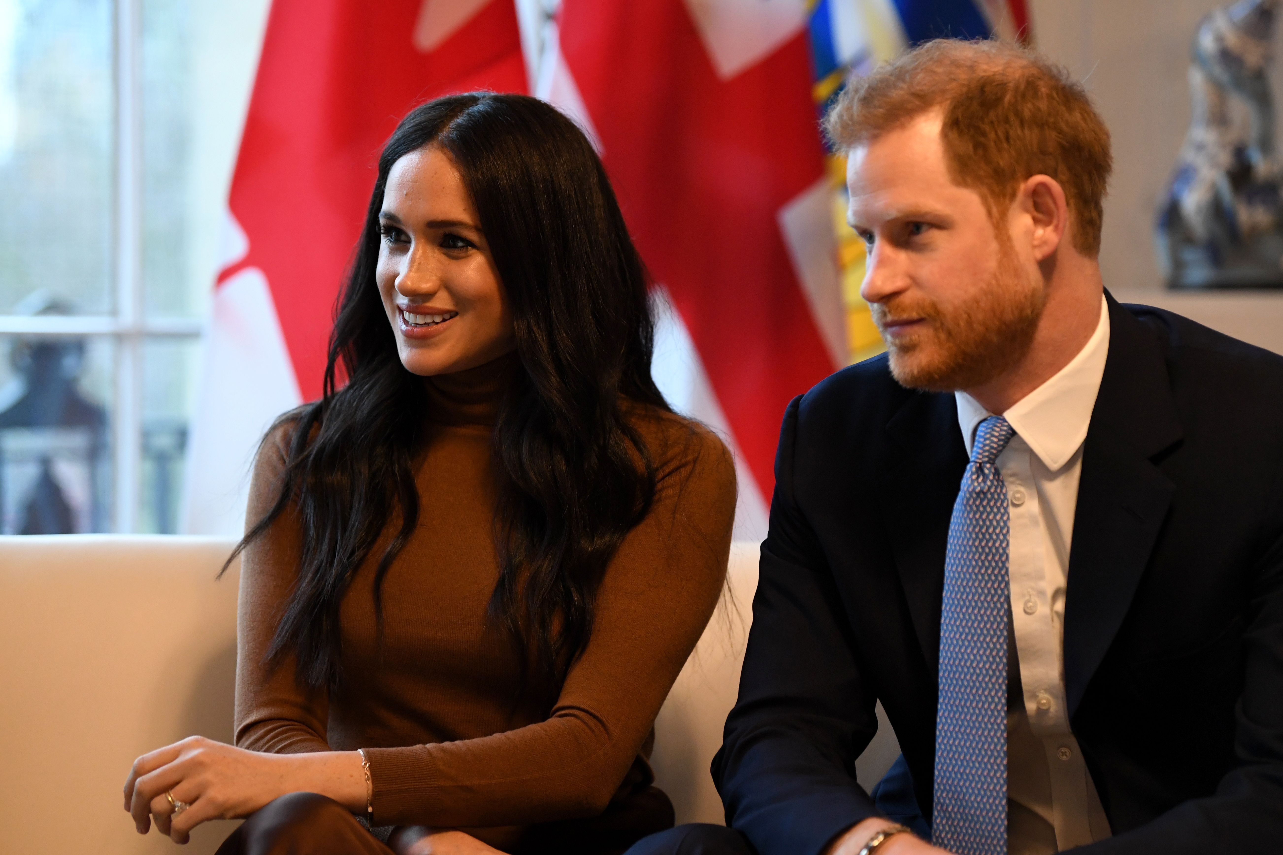 Prince Harry and Meghan Markle Were Photographed Smiling Together on Valentine's Day