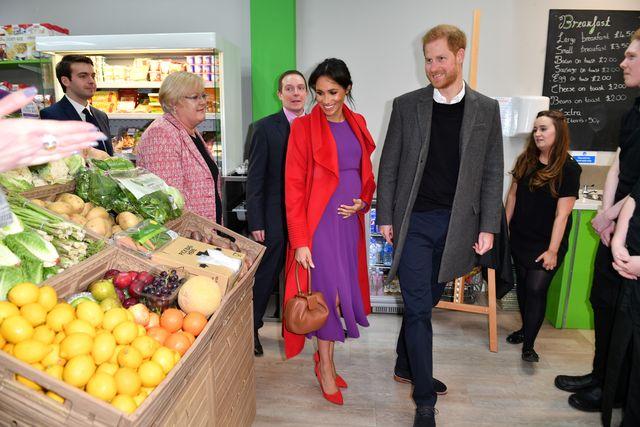 prince harry meghan markle grocery