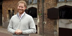 Prince Harry Royal Baby Body Language