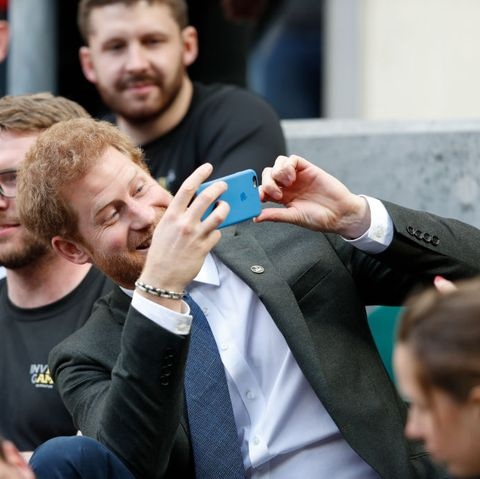 Prince Harry Attends The Army v Navy Match At Twickenham