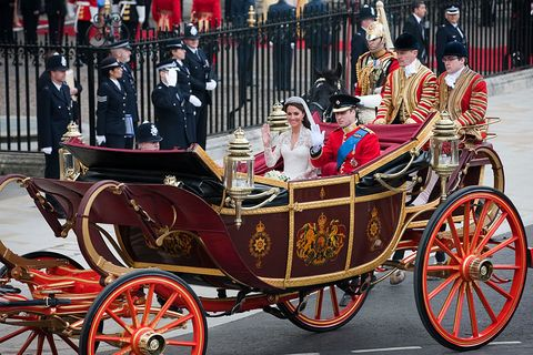 uk   wedding of prince william and kate middleton   the procession