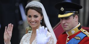 Britain's Prince William and his wife Ka
