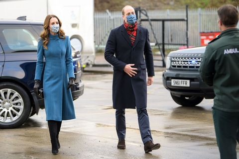 britain royals health virus