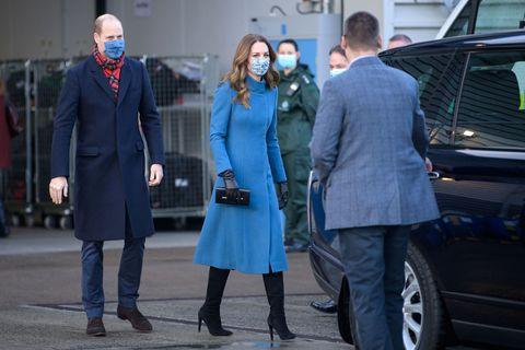 kate in her catherine walker coat
