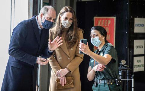 britain health virus royals