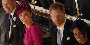 William, Kate, Harry, Meghan