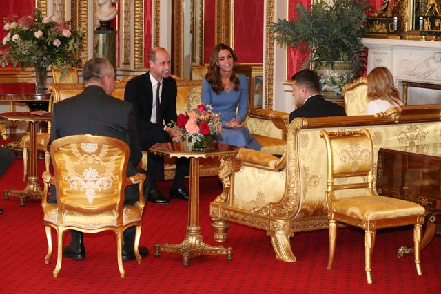 prince william kate middleton ukraine president first lady buckingham palace