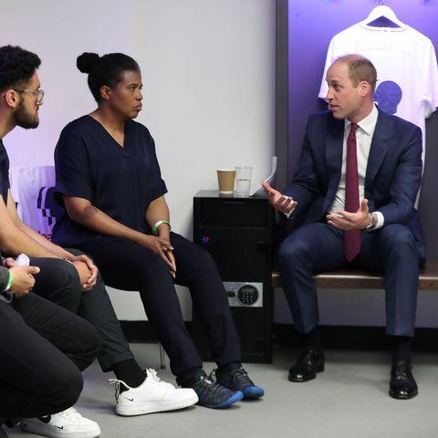 prince william talks about princess diana BRITAIN-ROYALS-MENTAL-HEALTH-FBL