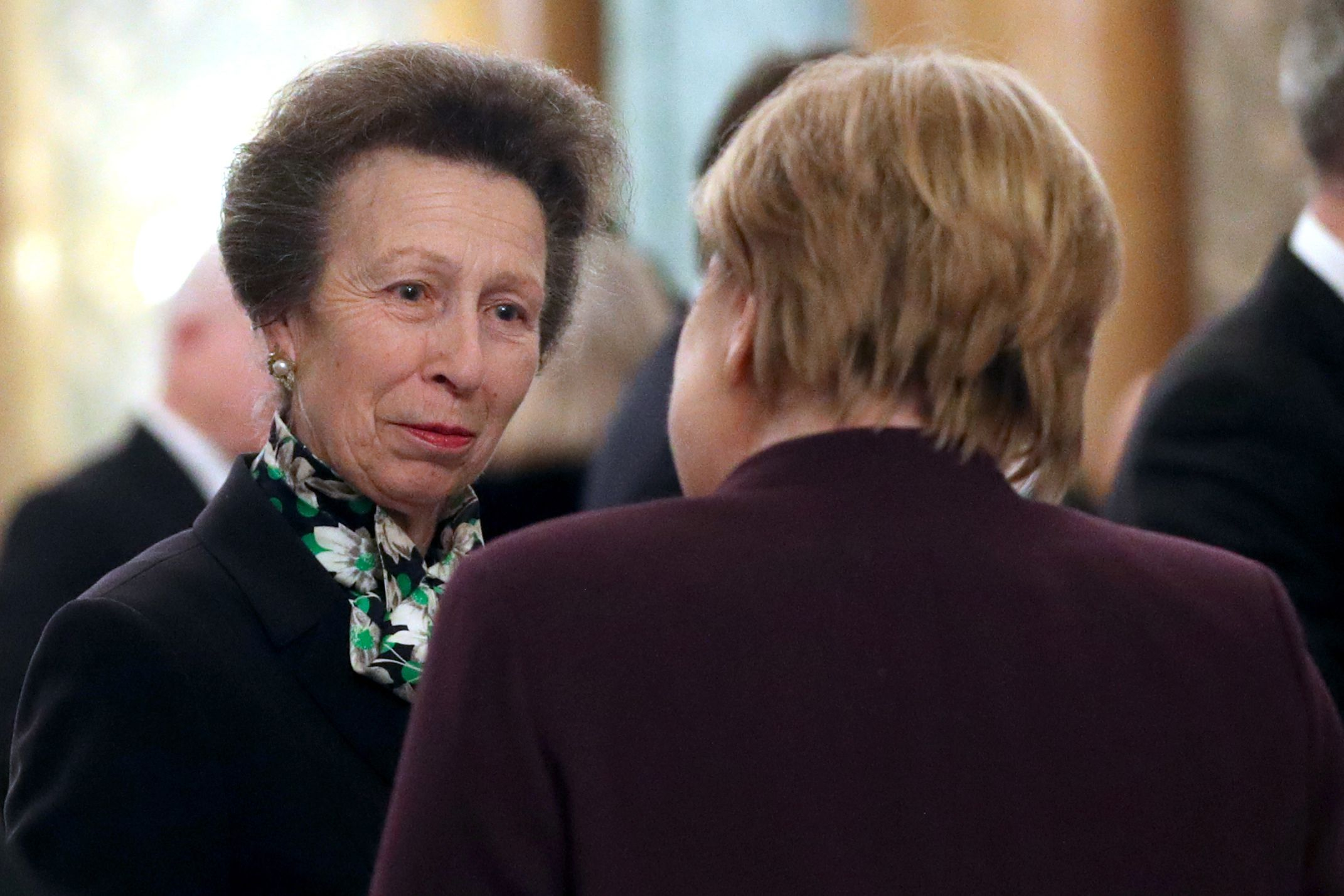 Here's Princess Anne Mocking Trump with World Leaders and Sassing the Queen