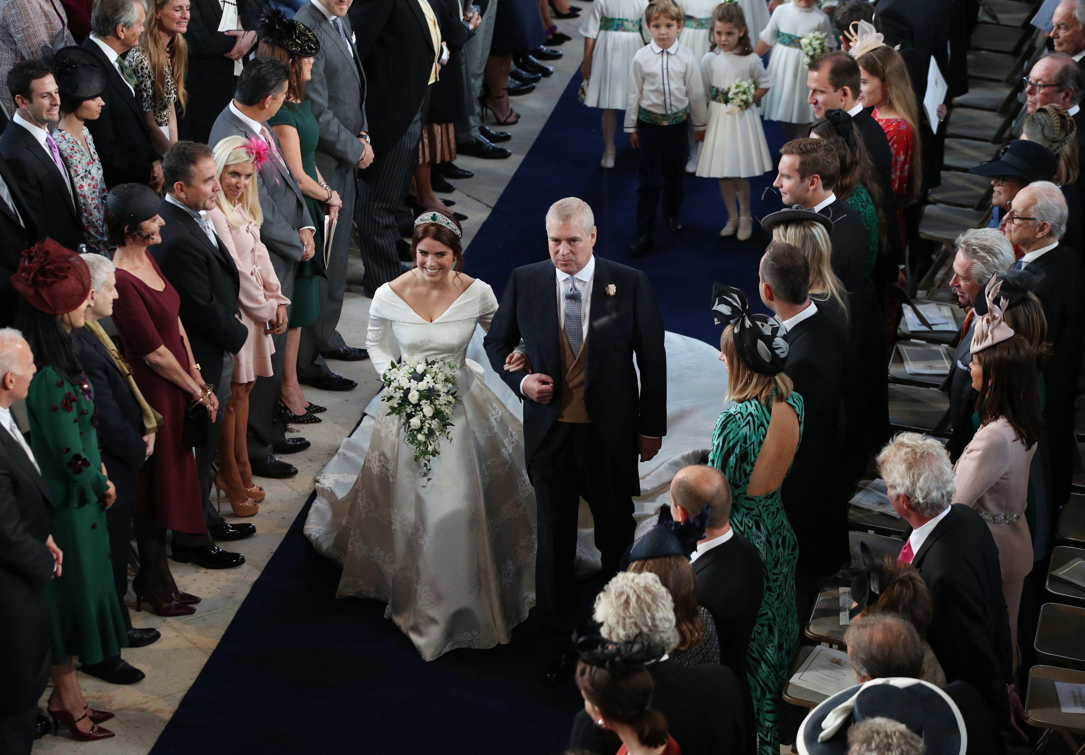 Princess Eugenies Wedding Bouquet Photos Of Eugenies Gorgeous