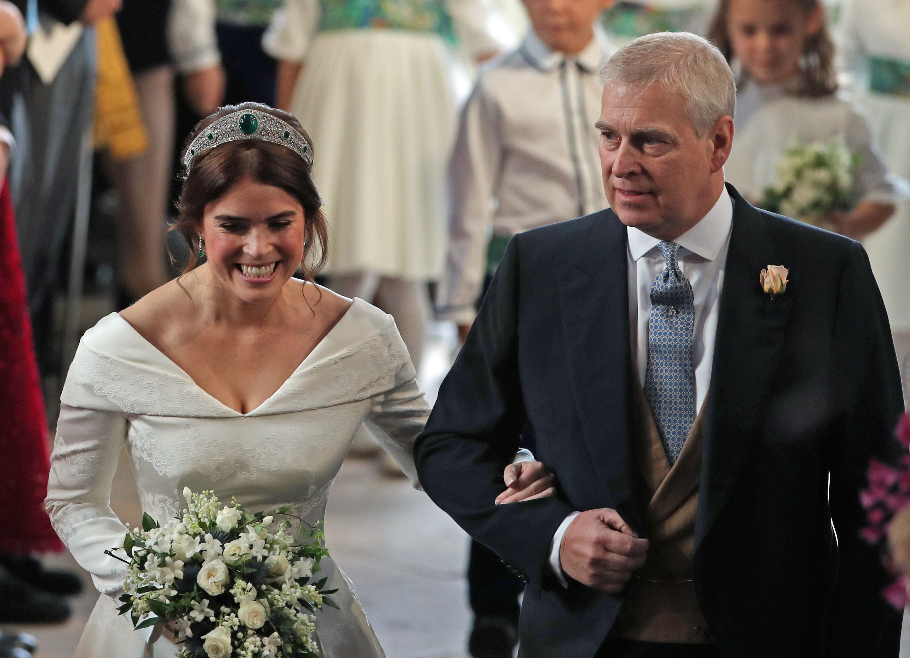 4ef87f74 The One Thing Princess Eugenie's Wedding Bouquet Has in Common with Meghan  Markle's