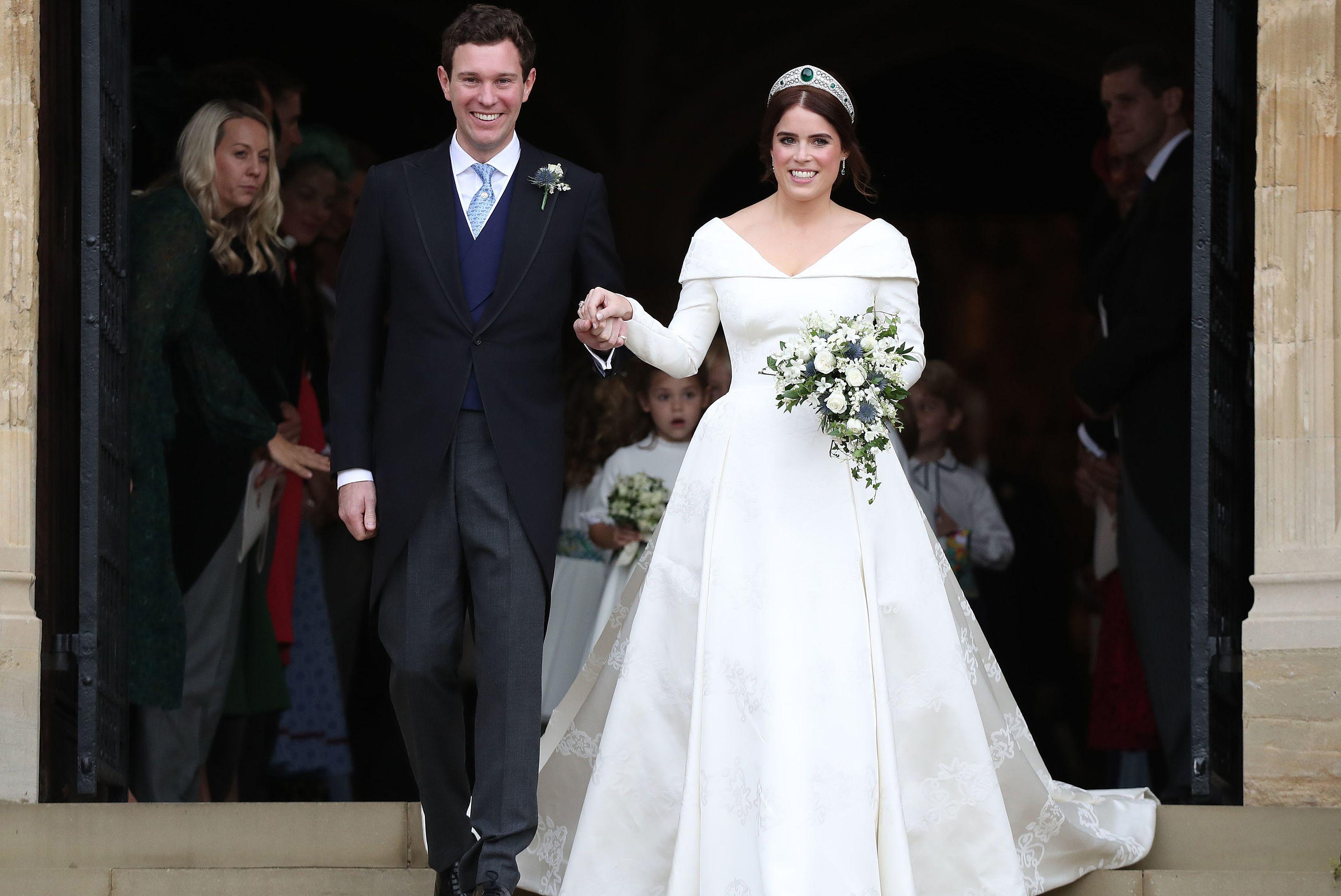 BRITAIN-ROYALS-WEDDING-EUGENIE-CEREMONY