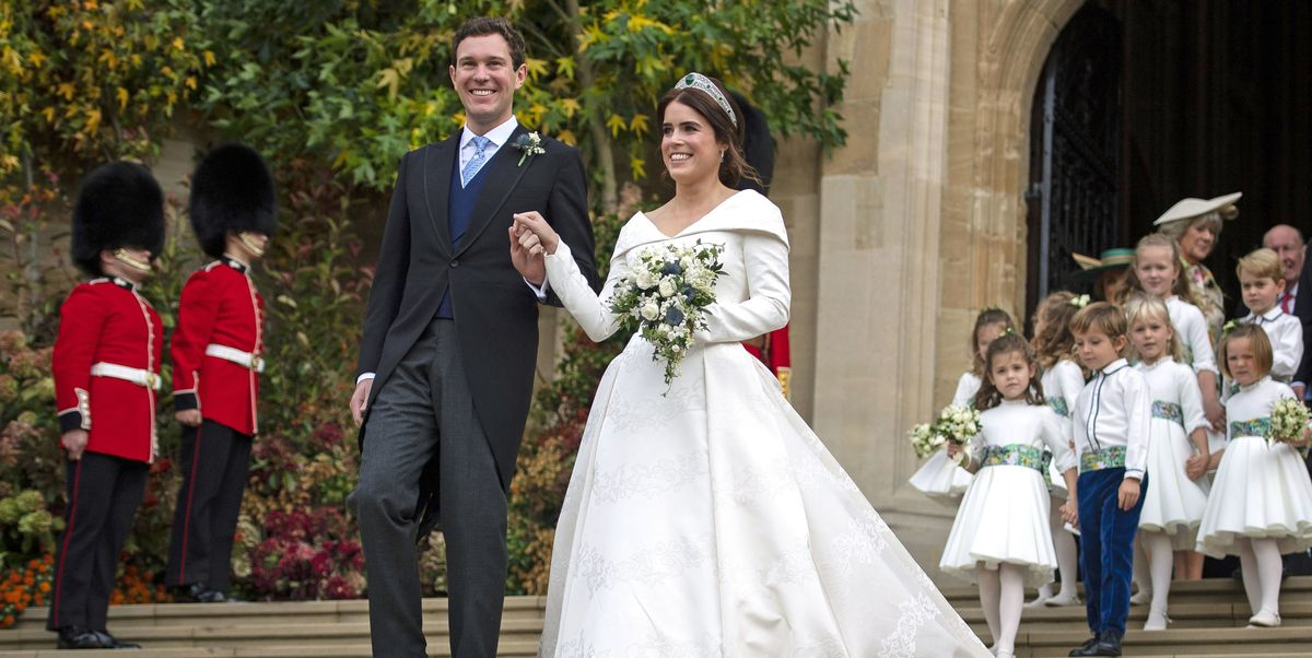 Princess Eugenie Royal Wedding Guide To Date Location Ring And Dress