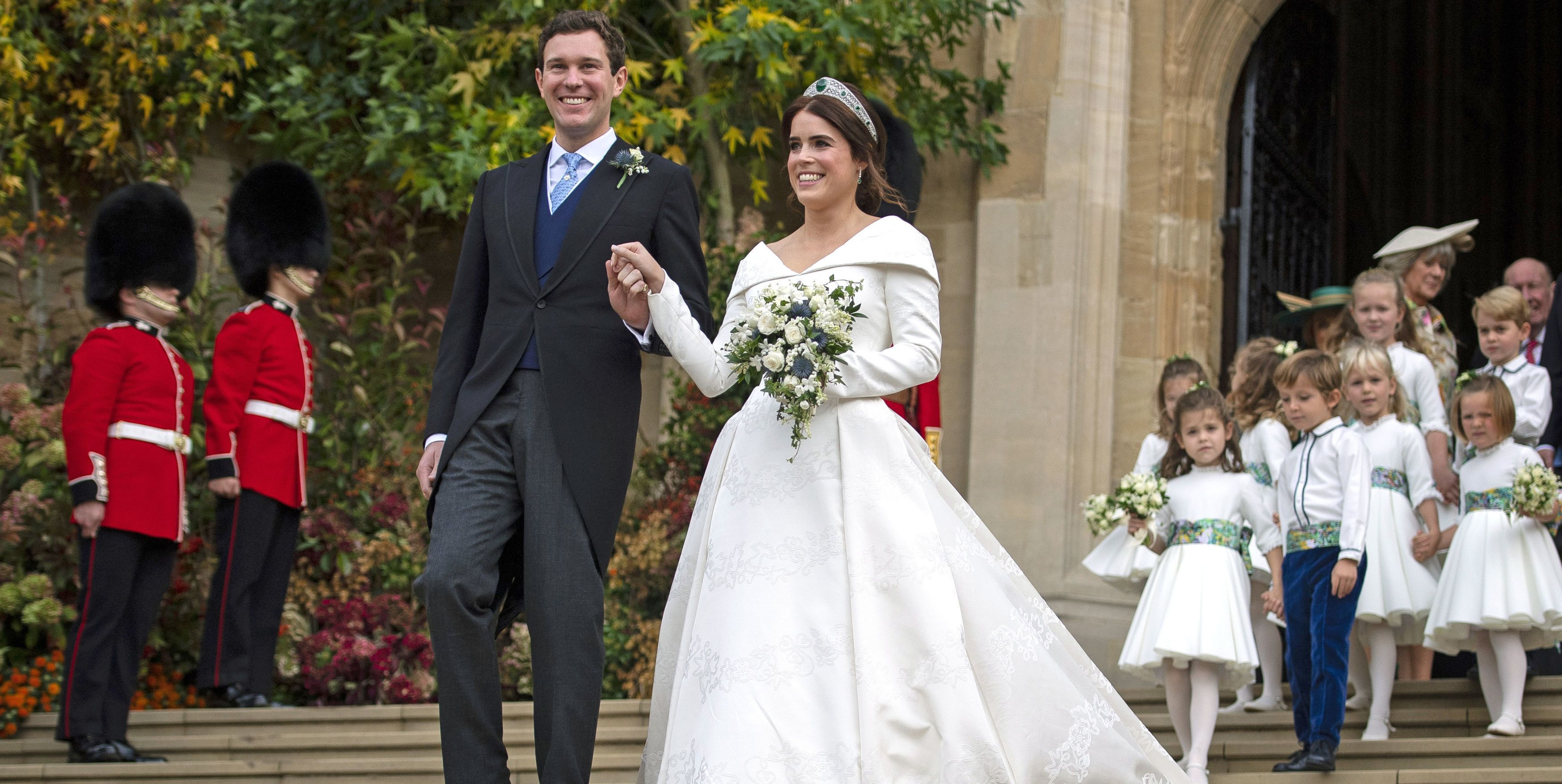 BRITAIN-ROYALS-WEDDING-EUGENIE-CEREMONY