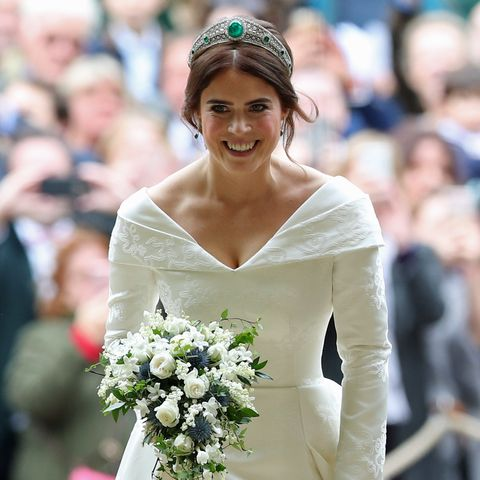 Princess Eugenie S Wedding Dress Compared To Meghan Markle Kate
