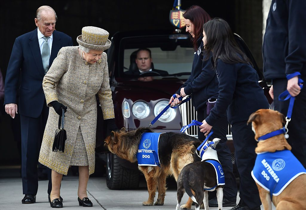 The Queen And Duke Of Edinburgh Visit Battersea Dogs And Cats Home