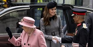 queen elizabeth kate middleton