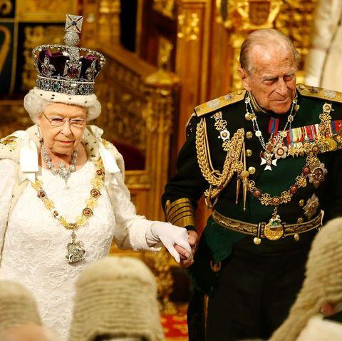 フィリップ王配とエリザベス女王