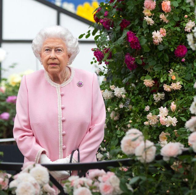 topshot britain enterainment art chelsea flower show royals