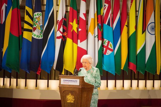 topshot britain royals commonwealth summit