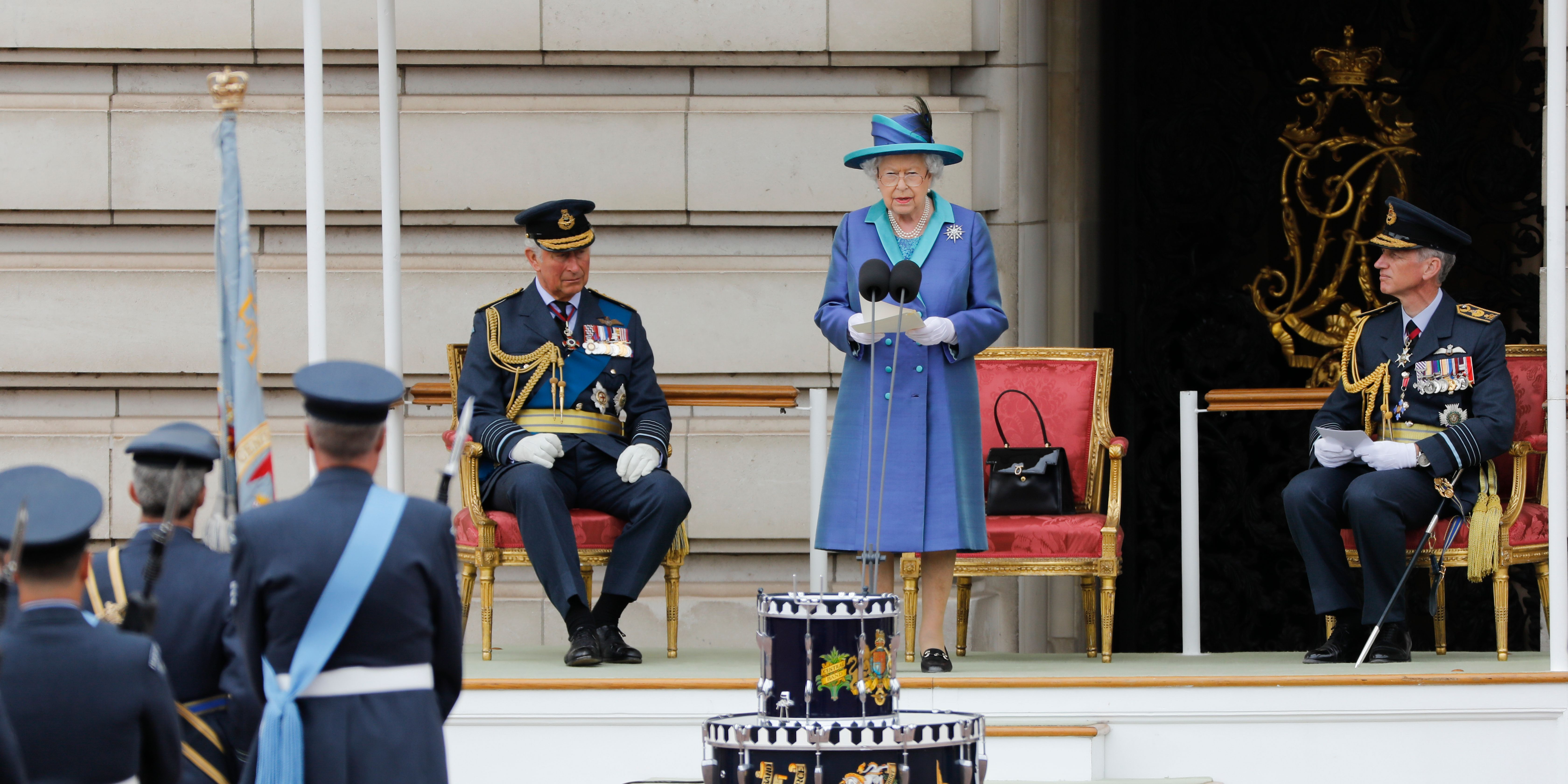 BRITAIN-ROYALS-RAF-DEFENCE-CENENTARY