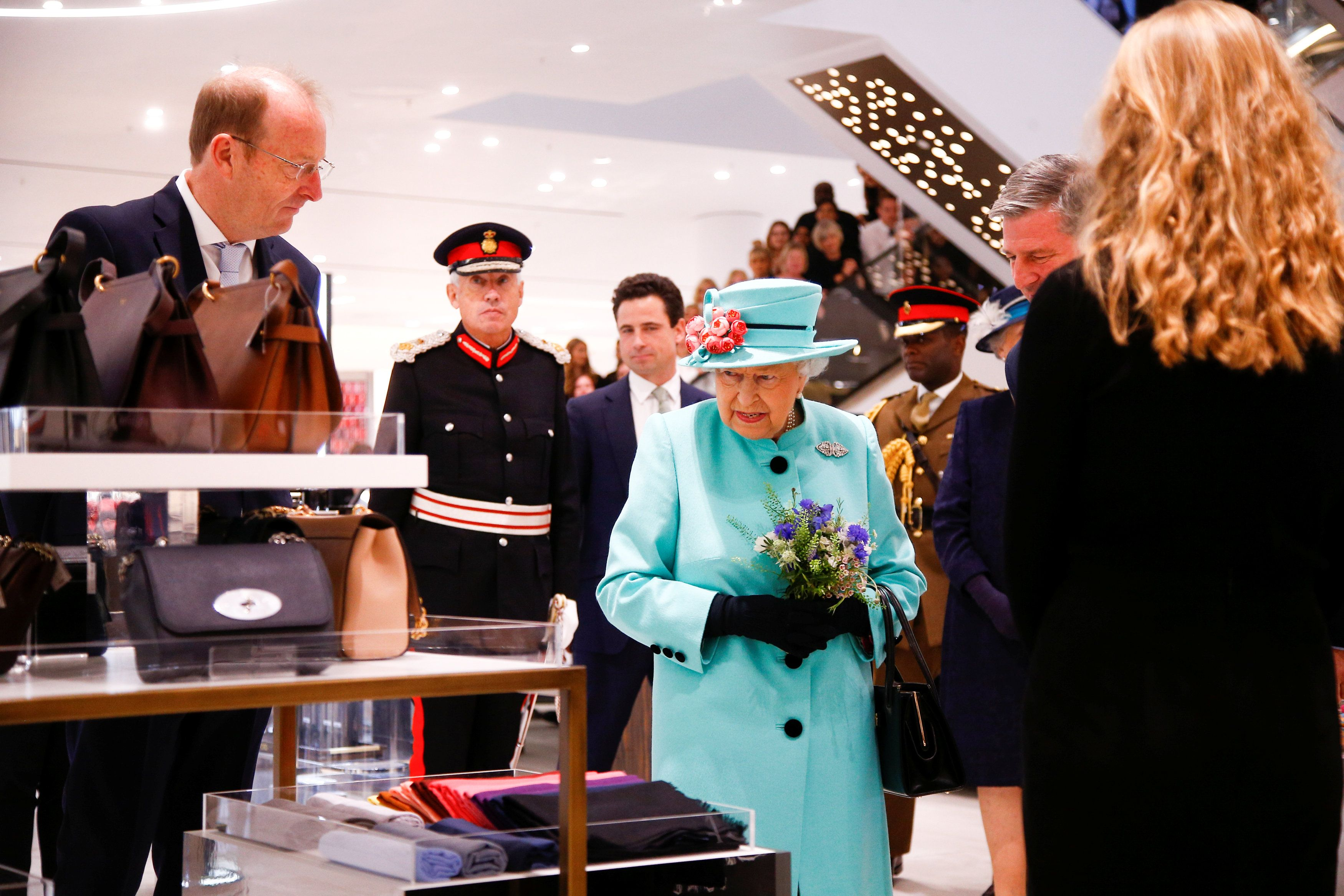 The Queen Visits The Lexicon